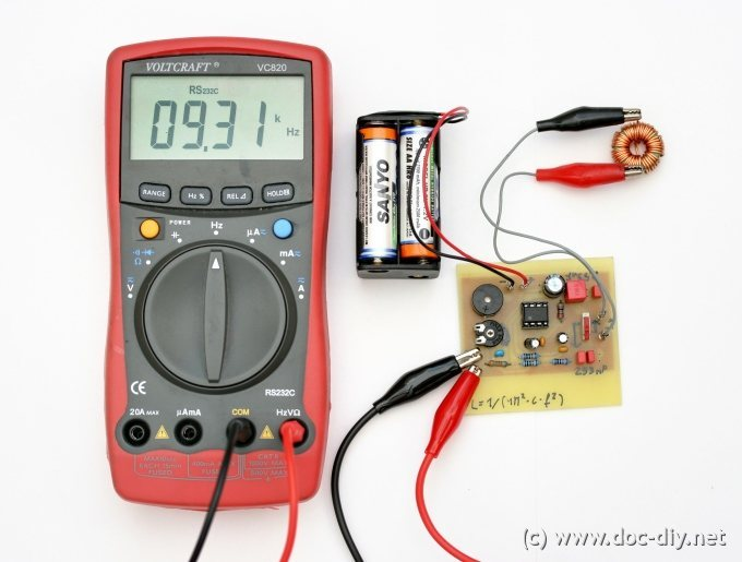 www doc diy net simple inductance meter rh doc diy net Water Flow Meter Electric Meter