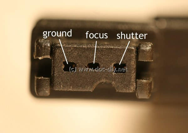 www.doc-diy.net :: camera remote release pinout list