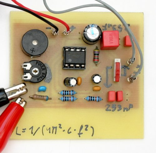Inductor Coil Meter : Doc diy simple inductance meter