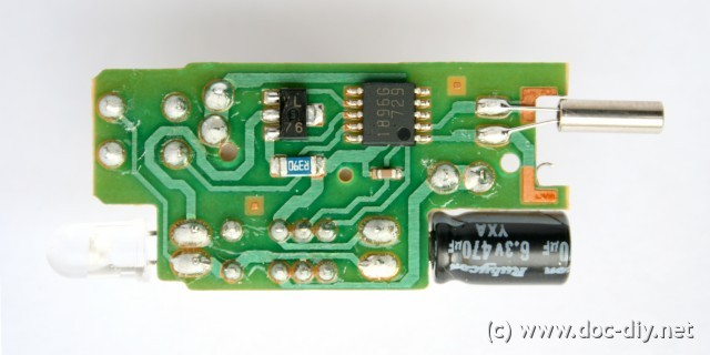 www doc-diy net :: Canon RC-1 remote control reverse engineered