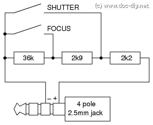 wwwdocdiy  camera remote release pinout list